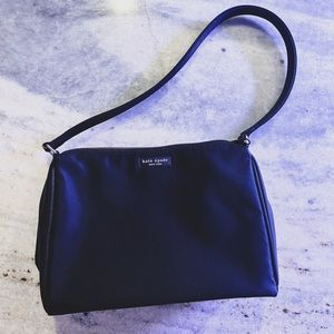VINTAGE Kate Spade Nylon Black Shoulder Bag 🤍